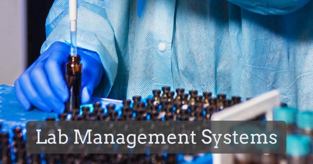 Lab Management System title image.